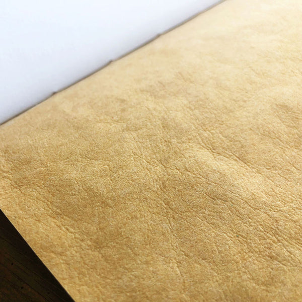 Faux Leather Slim Notebook