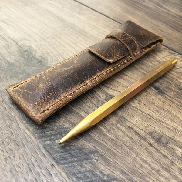 Leather Pen Case | Fountain Pen Case | Gifts For Writers