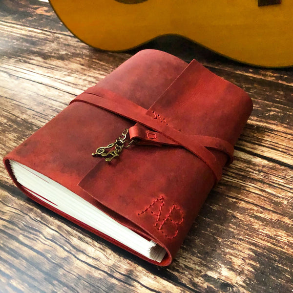leather bound music journal