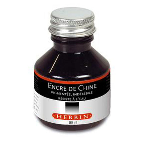 Herbin Indian Ink Black | 50ml Bottle