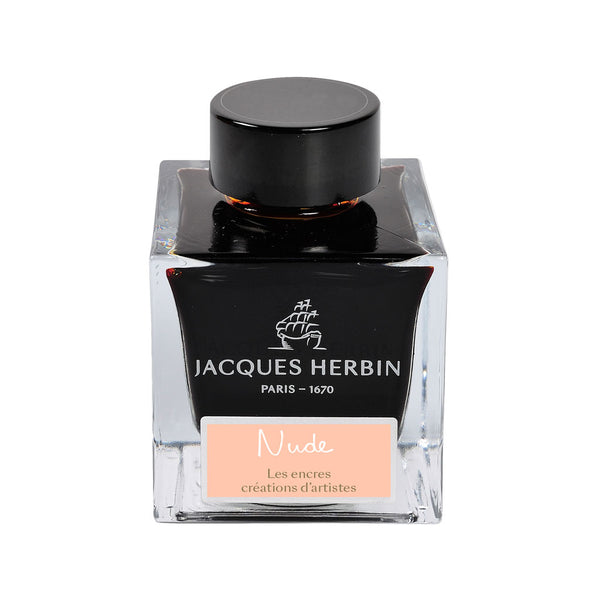 Jacque Herbin Nude 50ml bottle fountain pen ink