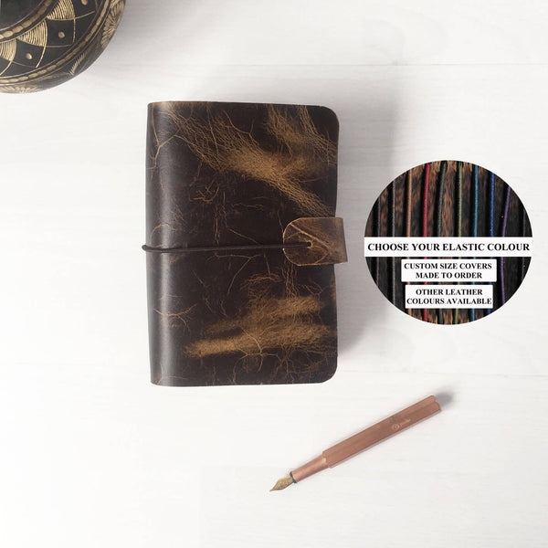 Leather Notebook Cover | Moleskine Cover | Custom Colours