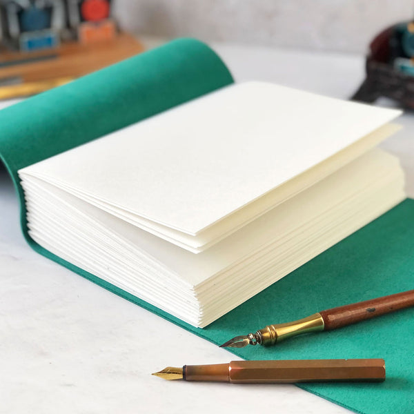 Personalised Leather Notebook, Sketchbook