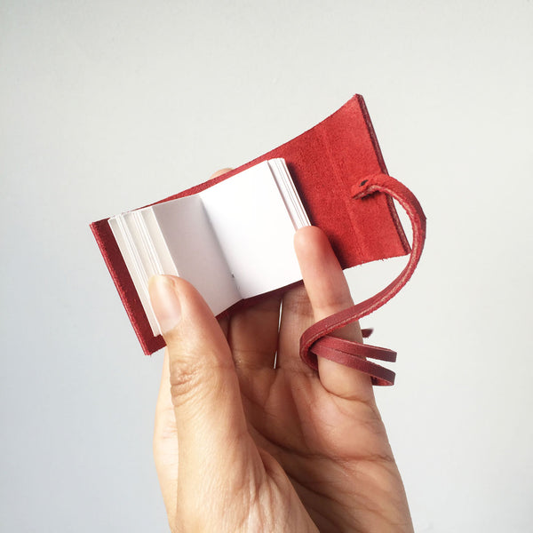 Miniature Books | Tiny Leather Bound Journal | Gifts For Book Lovers