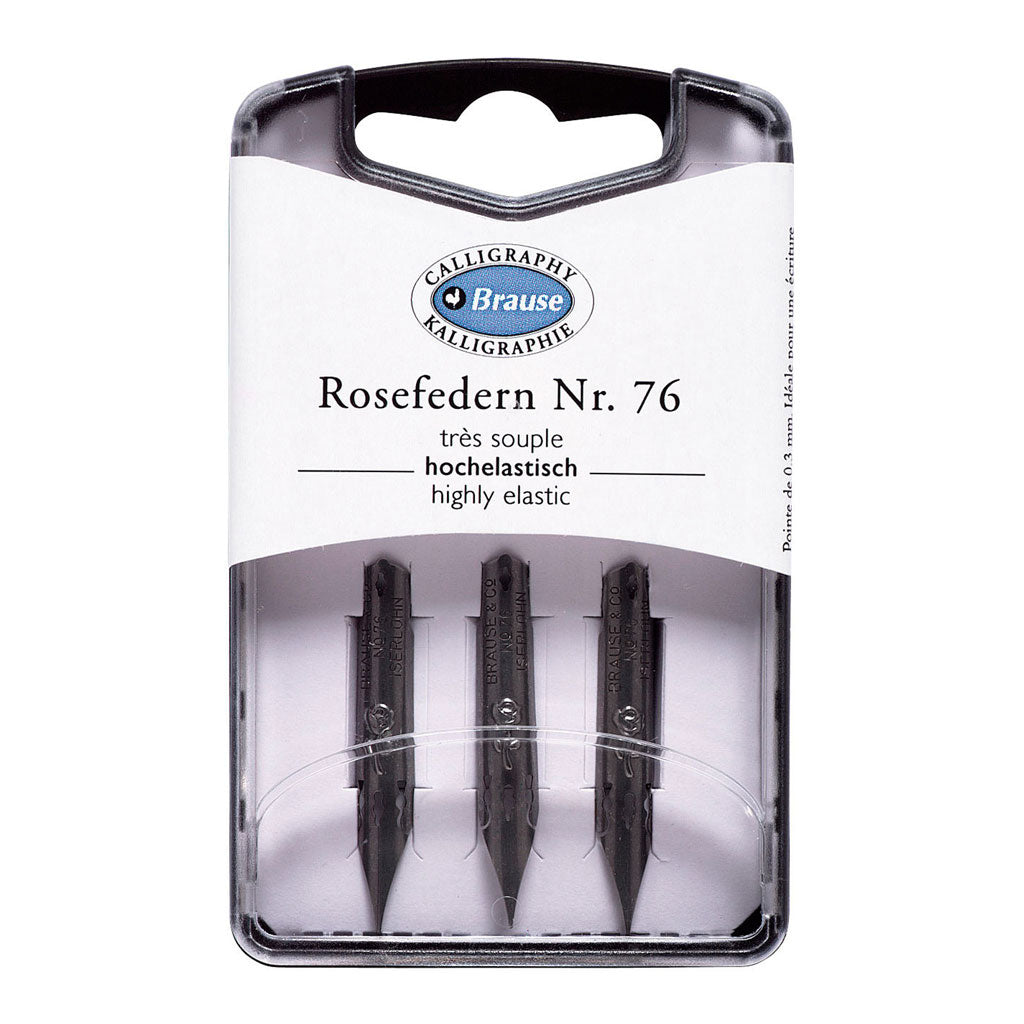 Brause 76 nibs set of 3