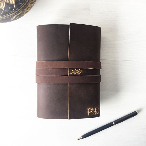 Monogrammed small notebook