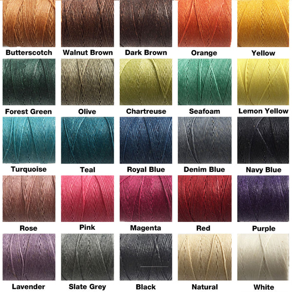 Thread colour chart