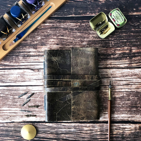 Tomoe River Paper Leather Notebook