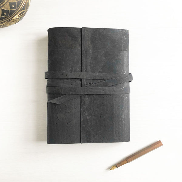 Personalised vegan leather journal