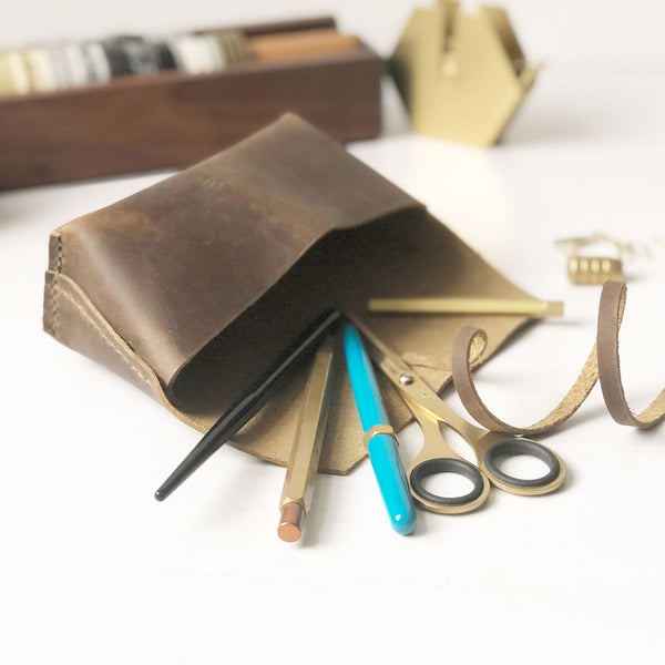 Leather Pen Case | Pen Pouch | Pencil Case