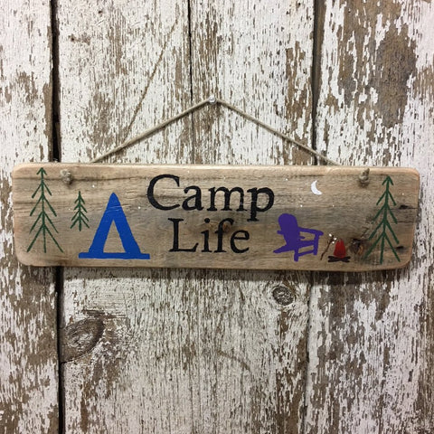 Camp Life camping gift idea for family camping and campsite