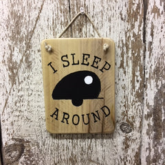 funny camping gifts for mom or dad signs from reclaimed wood
