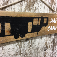 wooden camping signs 5th wheeler wood gift sign