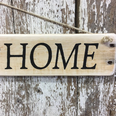 There's No Place Like Home  - Ruby Slippers Reclaimed Wood Sign