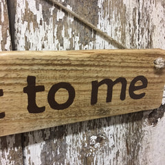 funny garden sign gift ideas for garden lover gardener talk dirt to me