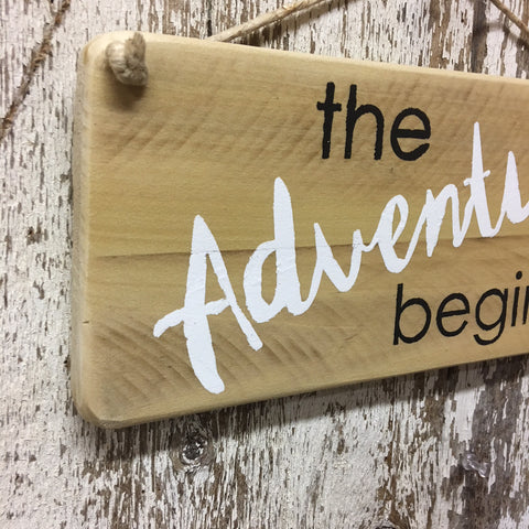 adventure signs wedding signs couples dating married baby sign