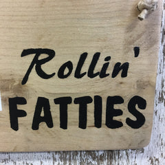 Fat Bike - Rollin Fatties Reclaimed Wood Sign