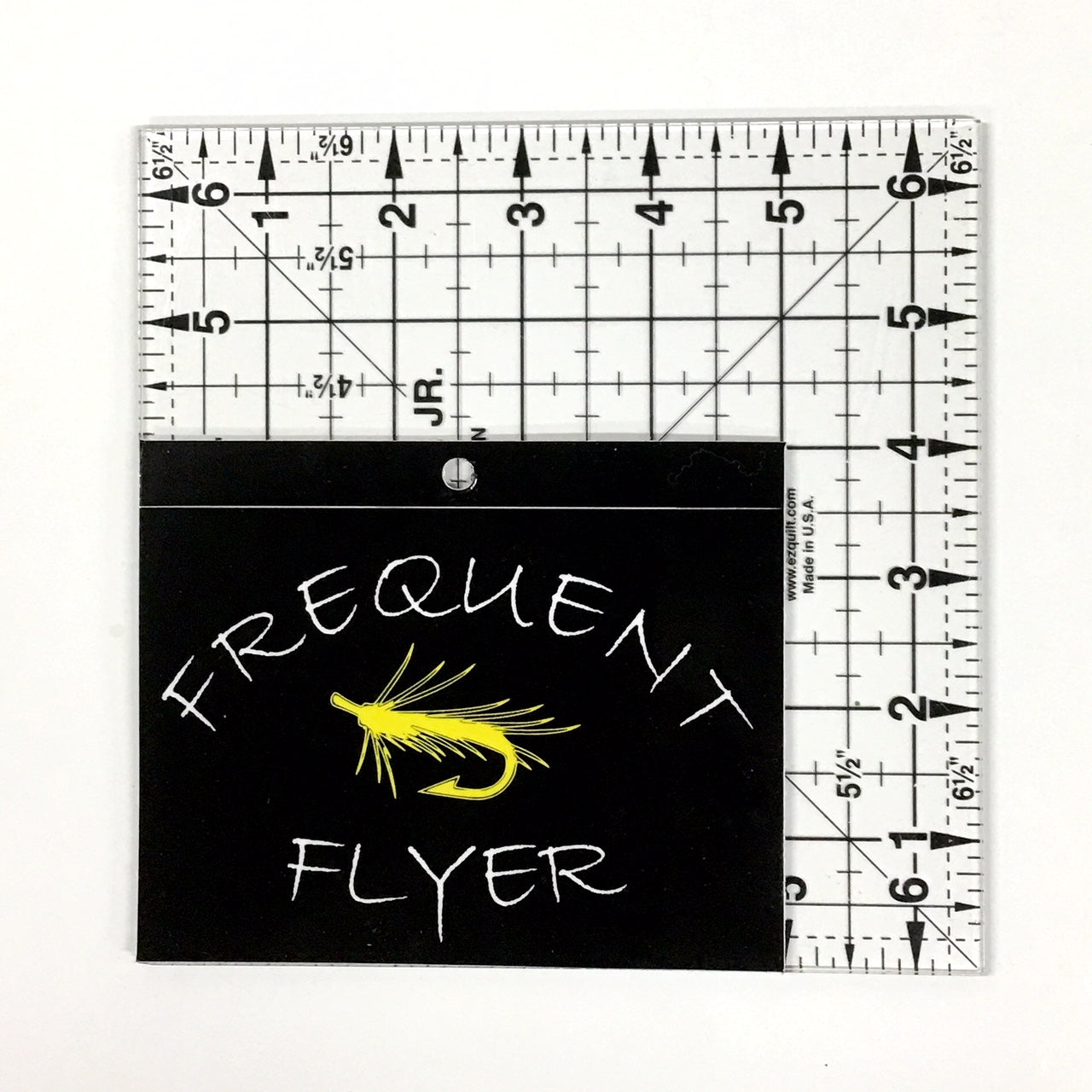 Frequent Flyer Fly Fishing Vinyl Decal - Window Sticker