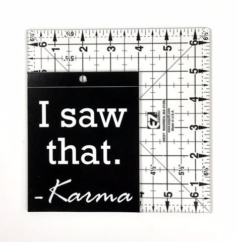 KARMA  - Window Sticker