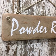 powder room sign bathroom decor and gift ideas for home