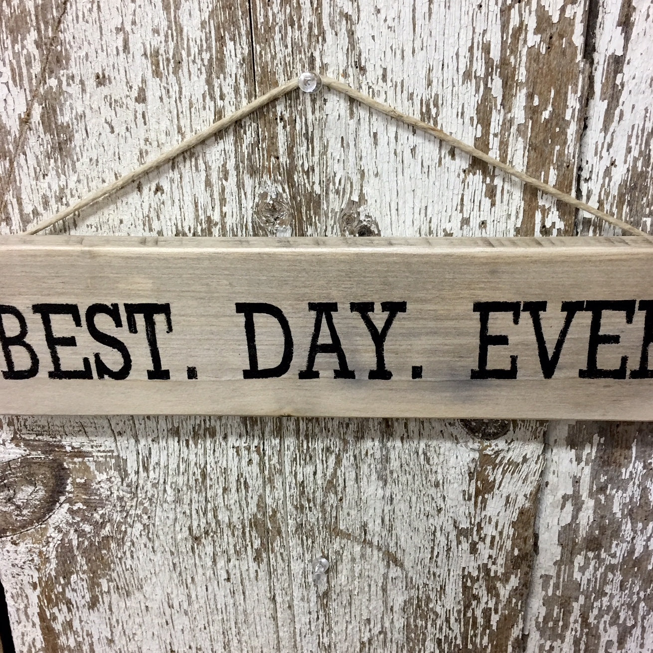 best day ever wooden sign wedding anniversary decor rustic gift