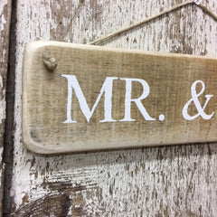 gay wedding sign anniversary sign mr and mr sign mister