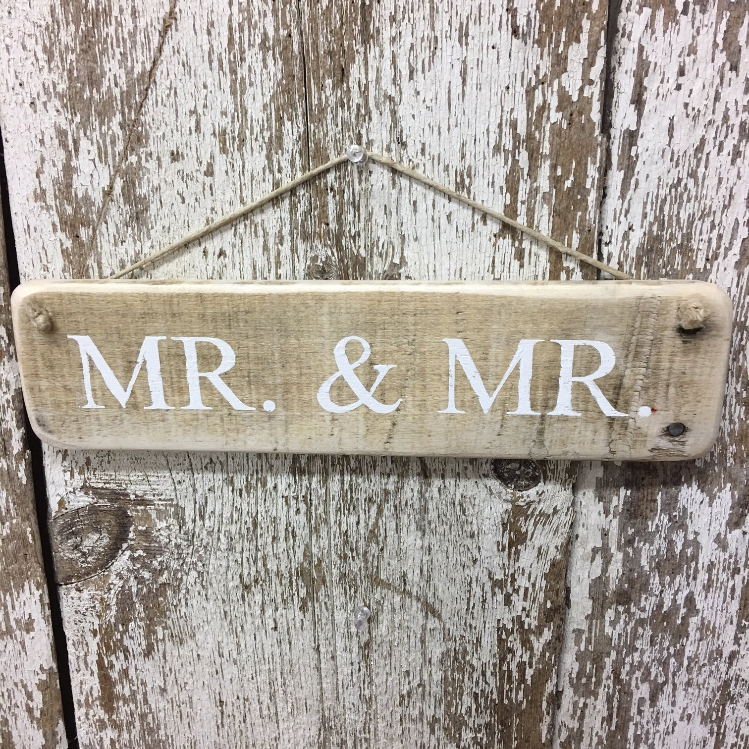 wedding gift anniversary gay wedding mr and mr decor rustic