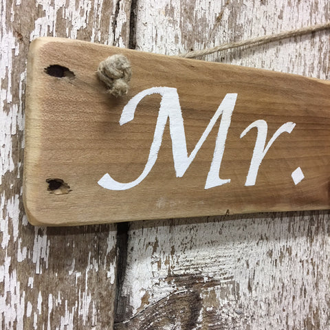 wedding decor rustic unique gift mr and mrs primitive wood sign