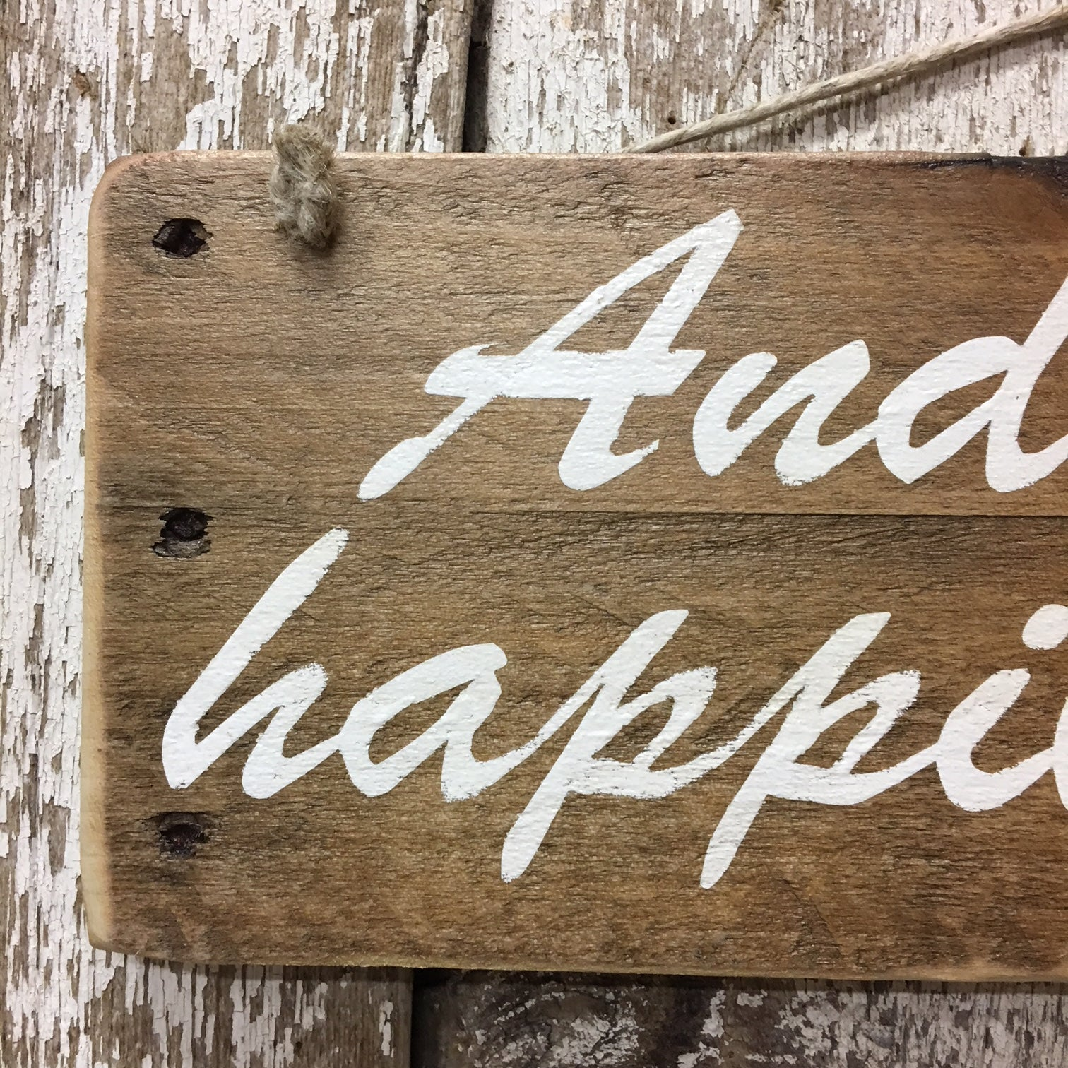 wedding gift ideas wedding signs decor happily ever after rustic sign