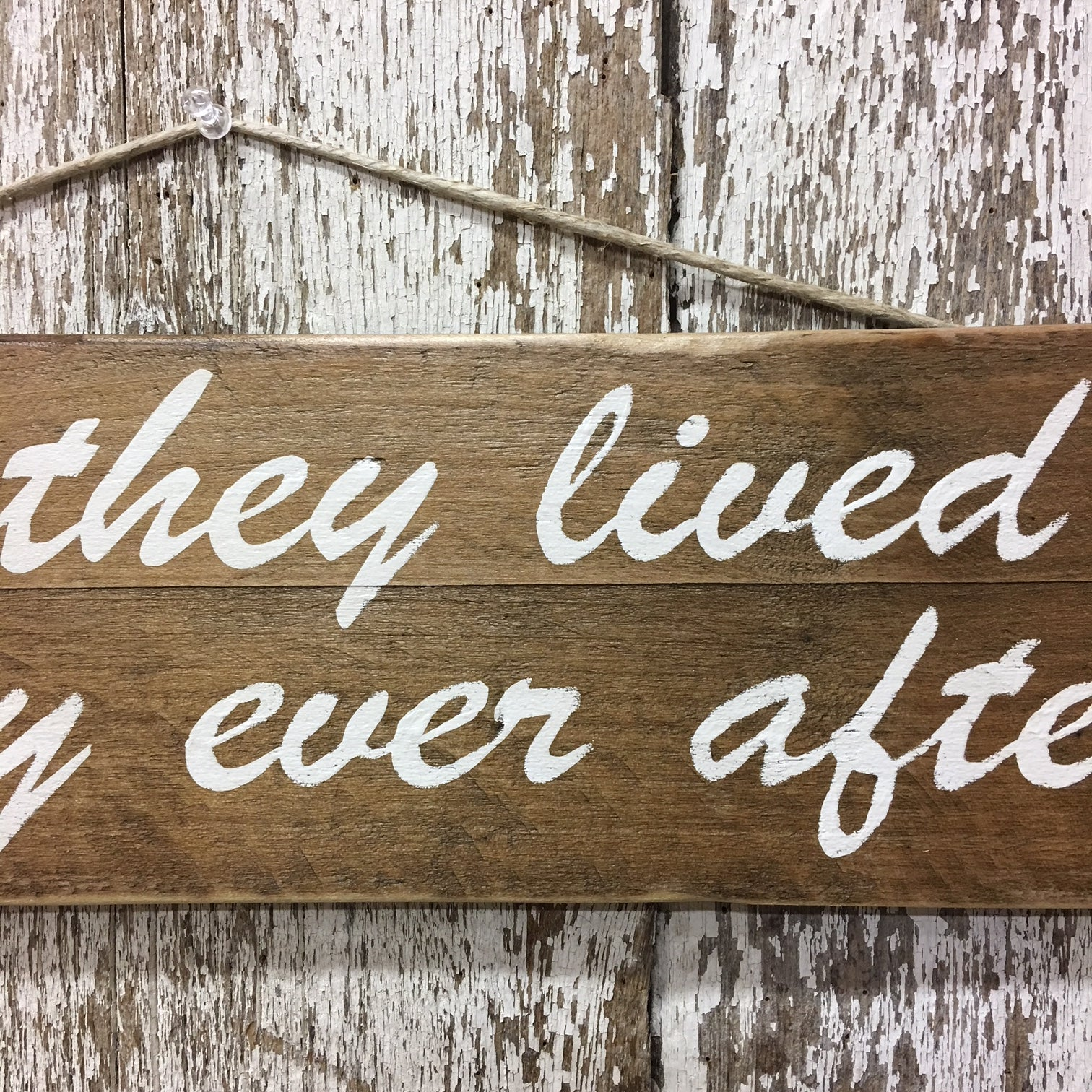 wedding decor ideas rustic cool best gifts happily ever after sign