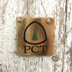pacific crest trail sign PCT trail sign PCT sign reclaimed wood