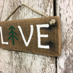 cool gifts for hikers gifts for backpackers outdoor lover live sign