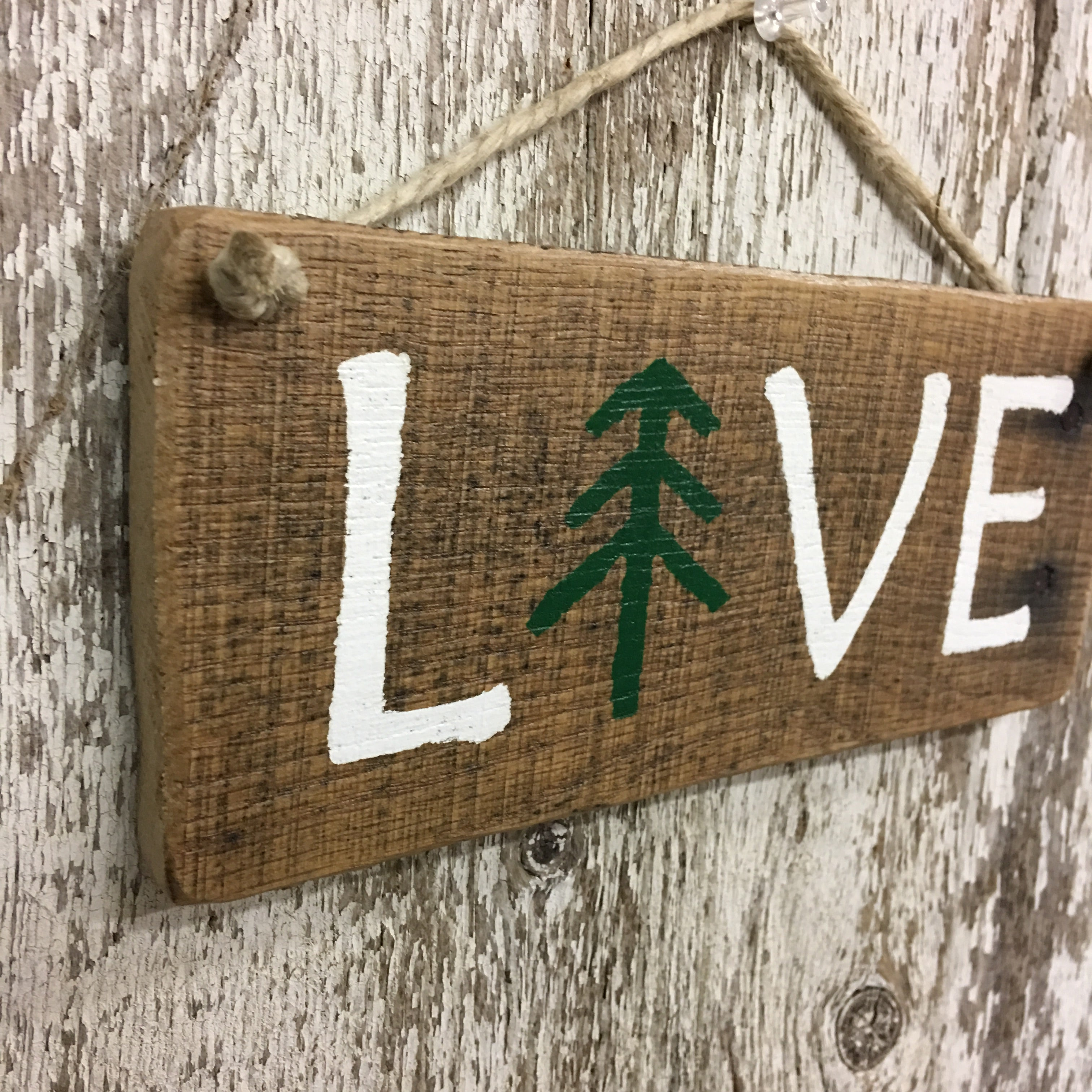 gifts for outdoorsy couples live hand painted reclaimed wood sign