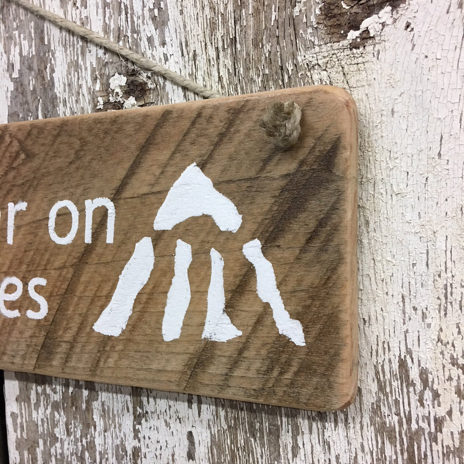 ski lodge decor snow gifts life better on the slopes wooden sign