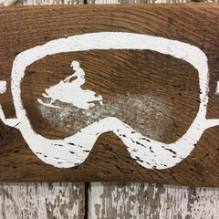 gift for snowmobiling snowmobile rustic wood sign hand painted