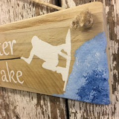 Life is better on the Wake Reclaimed Wood Sign