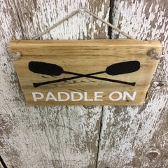 paddle sign boat gift idea paddles for boating paddle on sign