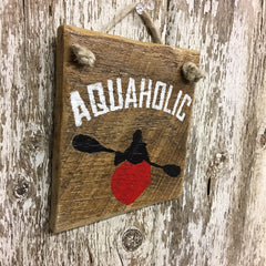 Kayak Wooden Sign Holiday Gifts for Paddlers Wall Art