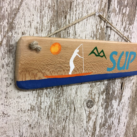 paddle board gift ideas sup sign paddleboard yoga decor sign