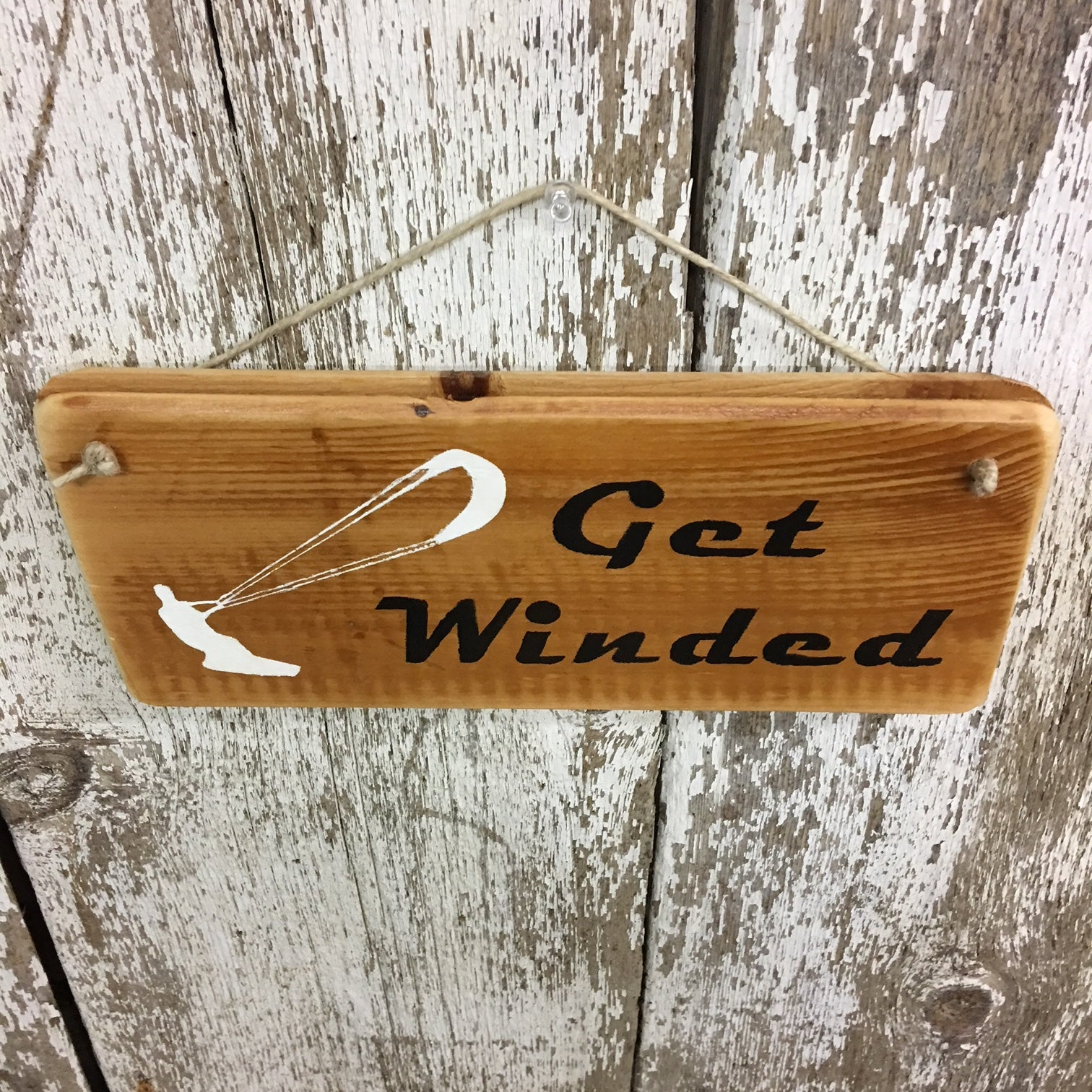 wake skate gift idea cool decor get winded sign wakeboarding