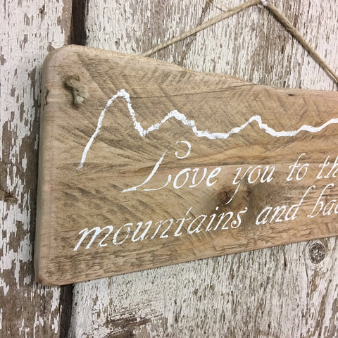 gifts for outdoorsy couples outdoor lovers rustic wedding sign