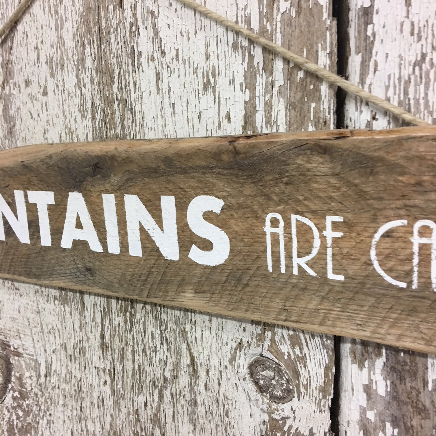 mountain home signs gift ideas the mountains are calling sign