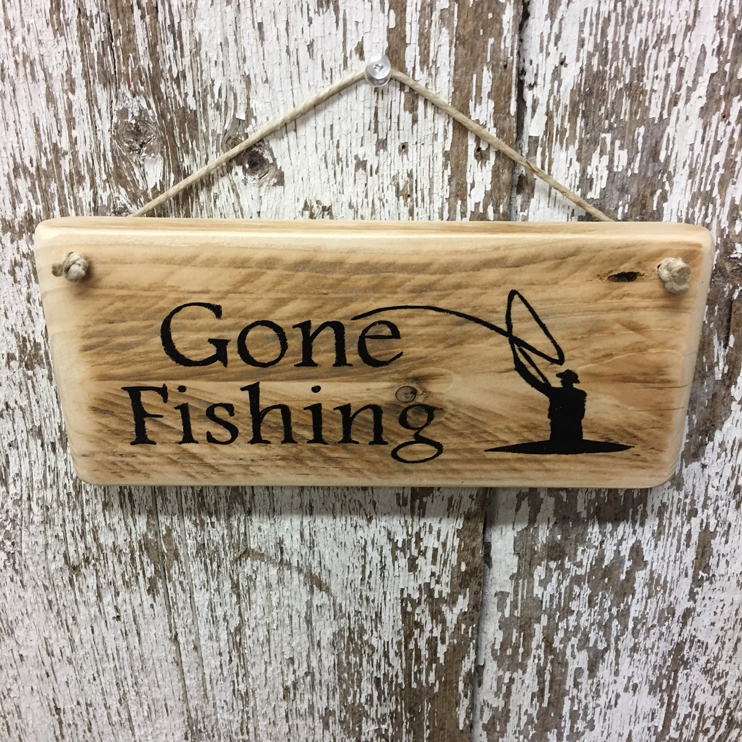 fishing gifts for fly fisherman gone fishing wooden signs