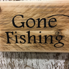gift ideas for fly fisherman fly fishing wood signs