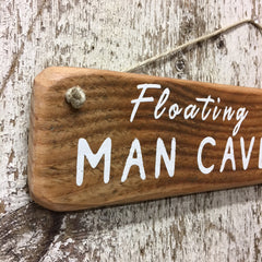 gifts for boat lovers floating man cave sign nautical gifts