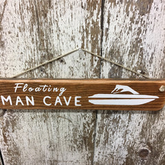 best gifts for boaters floating man cave boat reclaimed wood sign