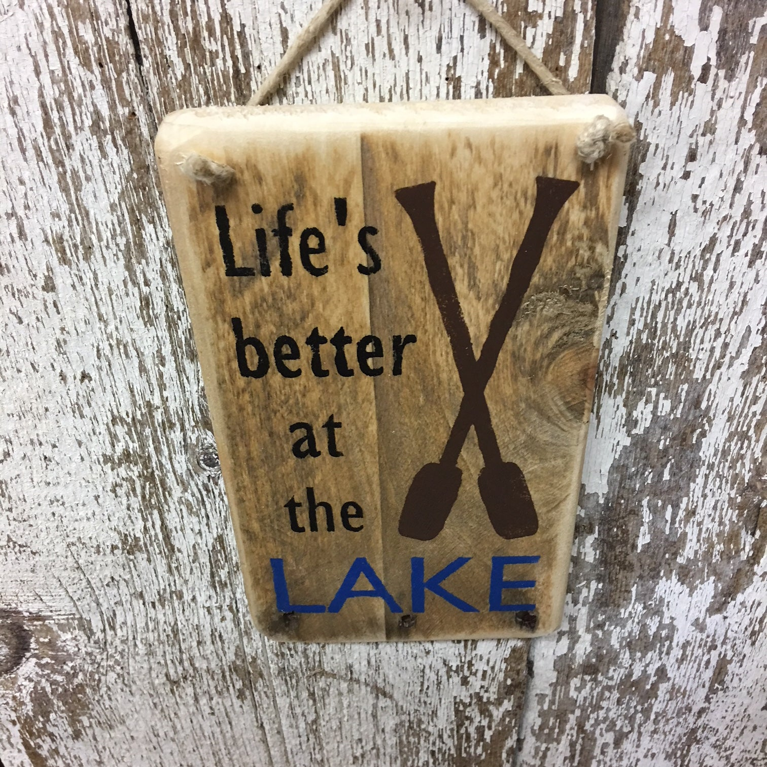 lake cabin decor lake signs life is better at the lake wood signs