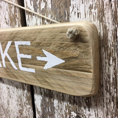 lake life gifts and decor lake arrow sign gift idea lake living