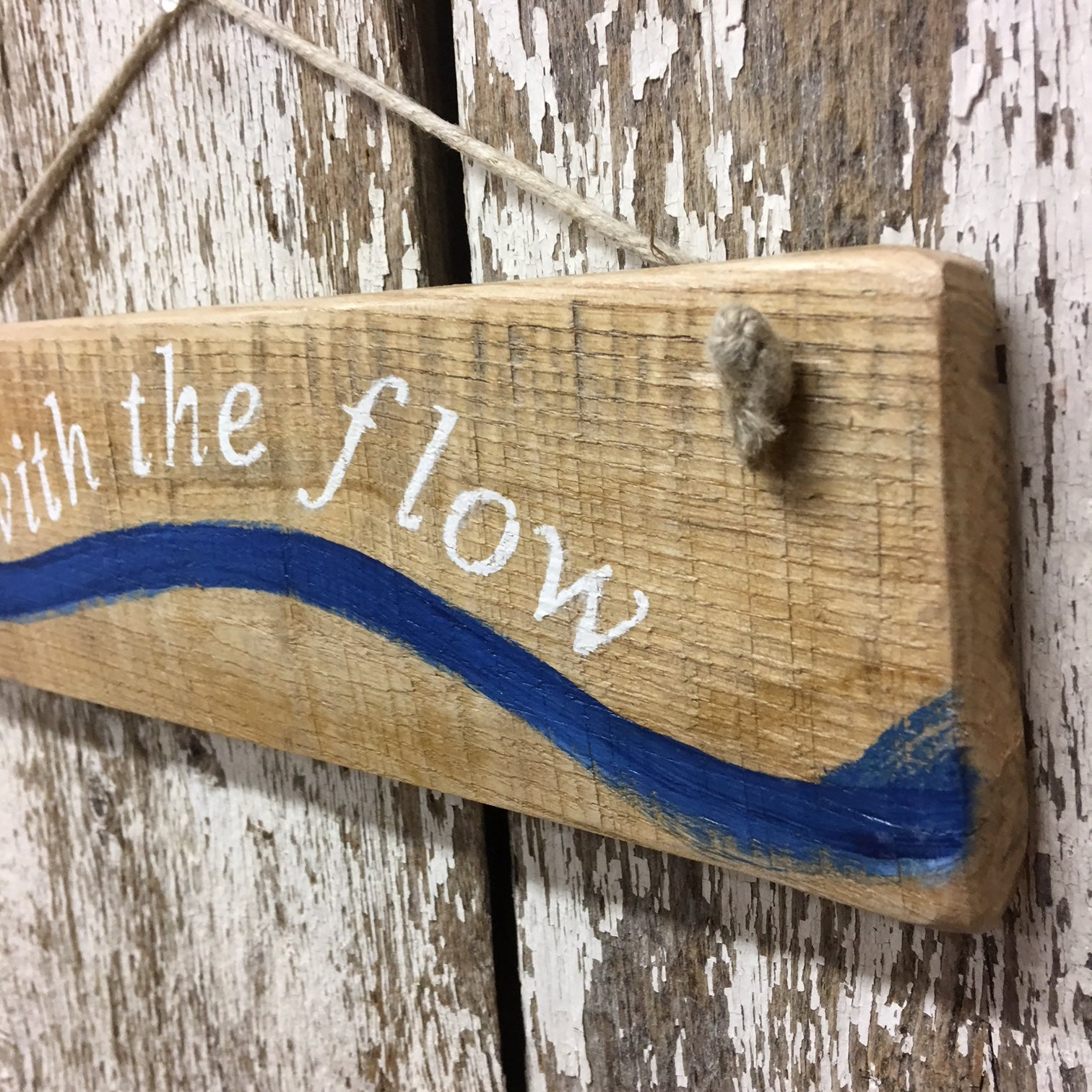 kayak gift ideas paddler gifts go with the flow wood sign