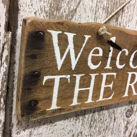 welcome signs river rustic wooden welcome signs for home